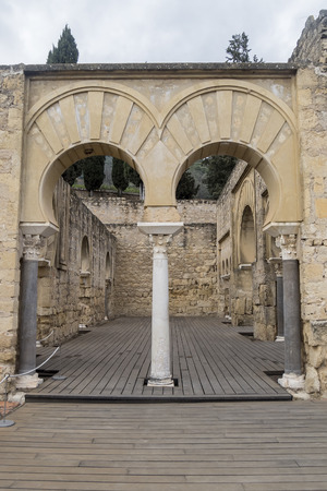 caliphate: Ancient city ruins of Medina Azahara, Cordoba, Spain