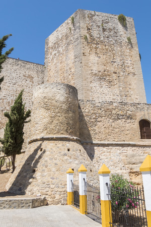 Santiago Castle of Sanlucar de Barrameda, Cadiz, Spain