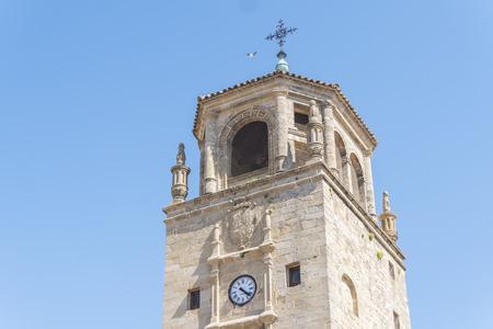 Clock Tower in Andalucia Square, Ubeda, Jaen, Spain