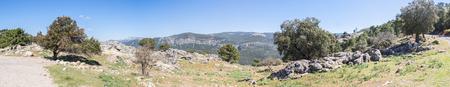 Paso del aire viewpoint in Sierra de Cazorla, Jaen, Spain Stock Photo