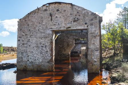Vestiges des anciennes mines de Riotinto à Huelva (Espagne)