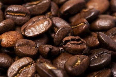 coffee background macro photo