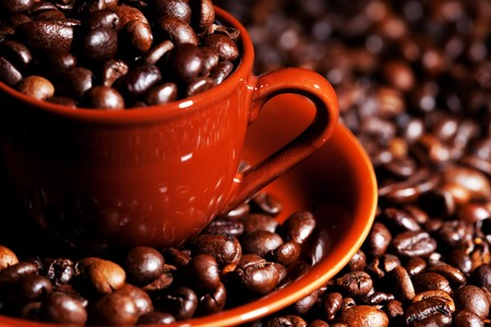 musetti: Coffe Stock Photo