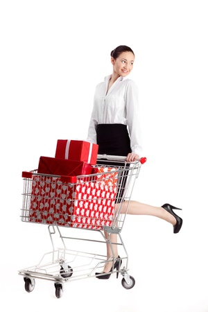gift spending: Shopping And Late
