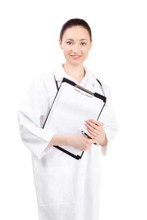 woman doctor in uniform photo