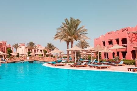 Famous resort in Sinai, outdoor shoot
