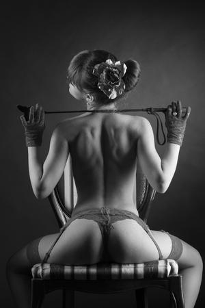 erotic fantasy: Erotic fantasy with girl topless