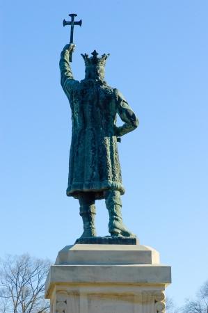 cel: Il monumento di Stefan cel Mare a Chisinau, Moldova