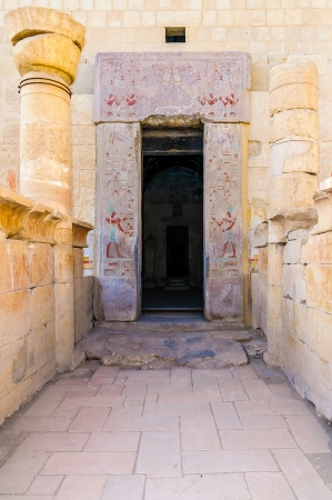 The Hatshepsut temple in the Valley of the Kings