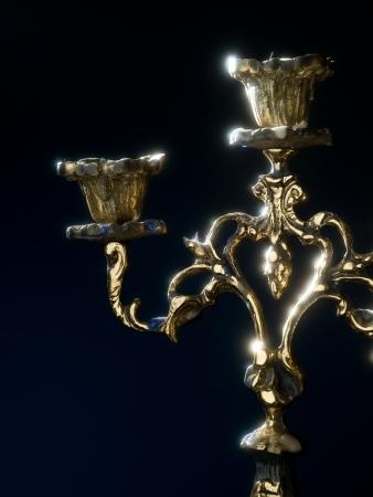 candelabra: Antique candelabra to illuminate your darkest nights Stock Photo