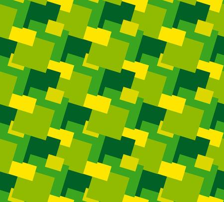 seventies: Seventies decoration seamless pattern Illustration