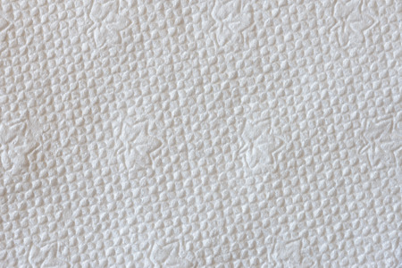 embossed paper: Macro of a white embossed paper napkin texture