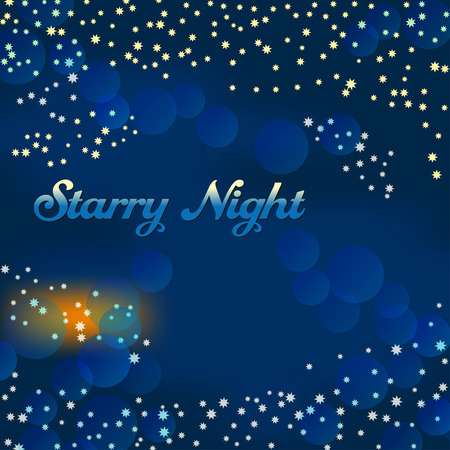 millones: Millones de estrellas brillantes llenan el cielo de la noche oscura
