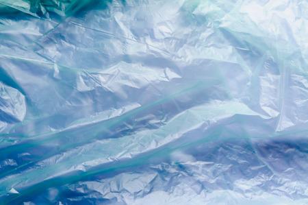 cellophane: Green and blue cellophane texture