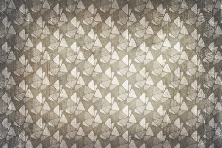 sixties: Sixties decoration pattern background. Colors beige and gray