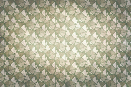 sixties: Sixties decoration pattern background. Colors beige, green and gray
