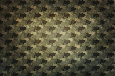 the seventies: Seventies decoration background. Colors beige, gray, brown and green.