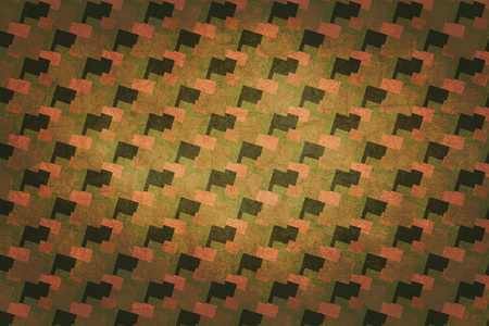 the seventies: Seventies decoration background. Colors pink, orange, brown and green.