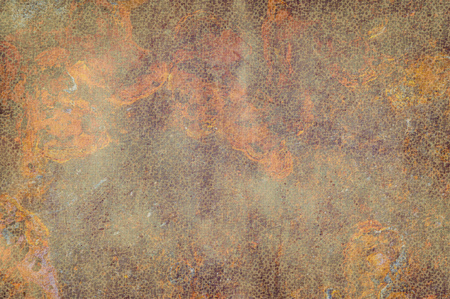 rust red: Abstract background with a red and orange texture of rust metal
