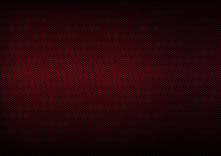 Abstract texture made of black lines on a red Bordeaux background Ilustração