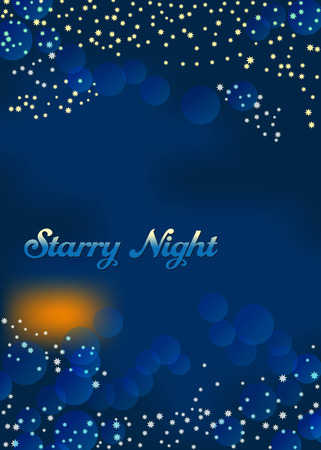 Millions of shiny stars fill the dark night sky