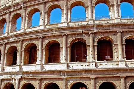 Europe Rome Colosseum photo