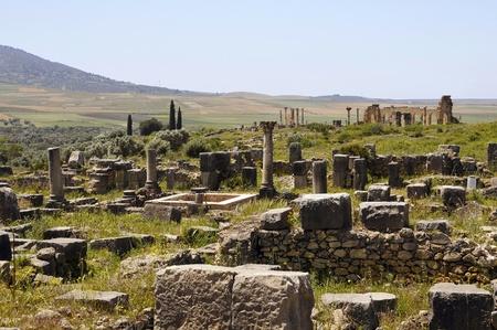 volubilis: Morocco Roman settlement volubilis