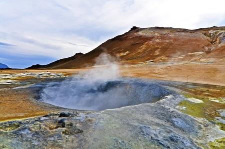 Iceland Namaskard volcano
