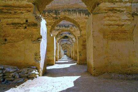 Africa, meknes, granary