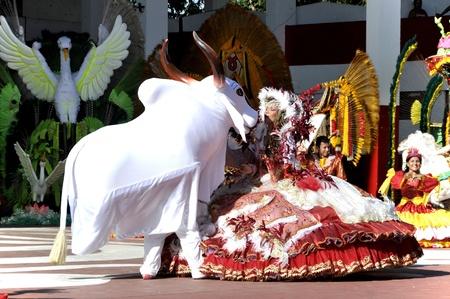 Brazil, Parintins, Boi-Bumba festival on the Amazon