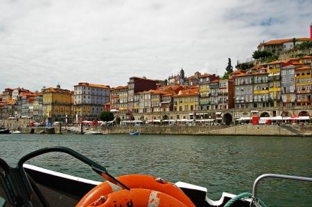 narrowly: Historic center of Porto, Portugal Stock Photo
