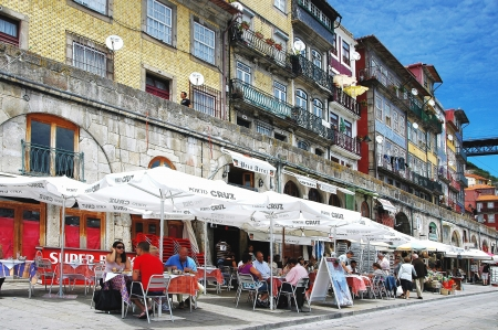 place of interest: Heart of the old postage is of the Cais there Ribeira in the former river port, and this Old Town quarter is probably the most famous place of interest in Porto  In 1996 it was taken up of the Cais there Ribeira
