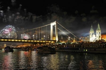 The 20th August is National Hungarian andthe culmination of this festive day is a tremendous fireworks over the Danube and Castle Hill  Editorial
