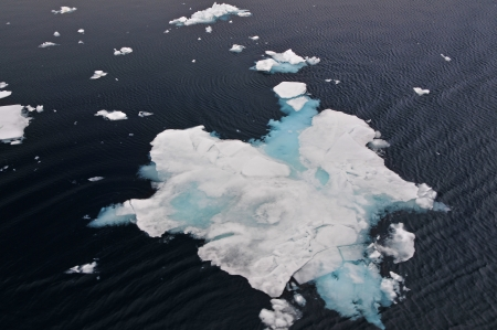 arctic waters: Ice, also known as drifting is ice that floats on lakes