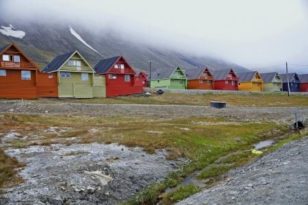 spitsbergen: Allotment in Longyearbyen  Spitsbergen
