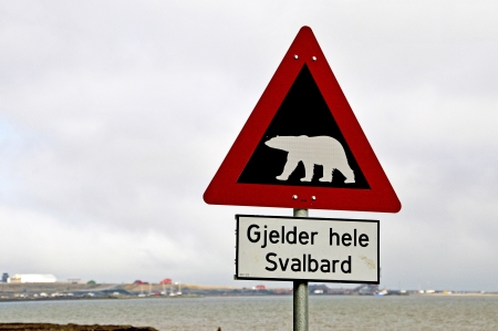Gjelder hele Svalbard   It applies to the whole of Svalbard Stock Photo - 15369637