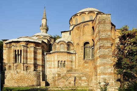 chora: The Chora Church  Kariye Museum with a Turkish name  in Istanbul