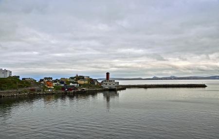 midsummer: Midsummer in Honningsvag  Norway