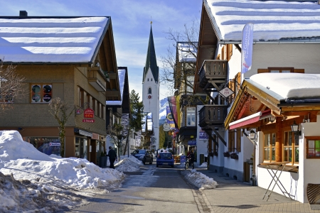 Oberstdorf is Germany s southernmost municipality  Oberstdorf consists of many small and picturesque hamlets  Rubi, Reichenbach and Schöllang in the north, the west or Kornau Tiefenbach