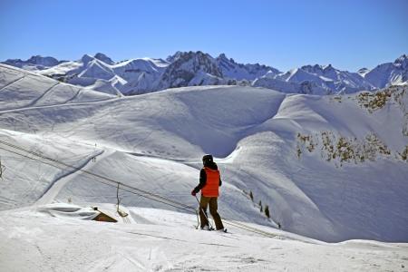 The highest ski area in the Allgaeu