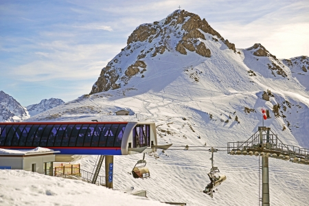 The pulpit wall, Warmatsgundkopf is a 2058 m high mountain in the Allgäu Alps