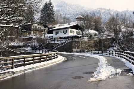 Wintry Oberstdorf