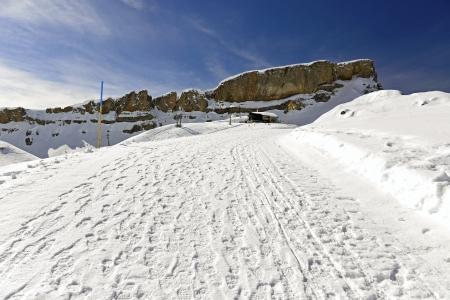 Winter Hiking on Gottesackerplateau High Ifen