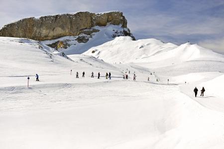 Gottesackerplateau Ifen Das High ski resort