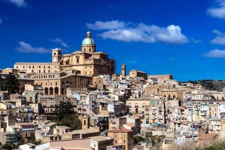 Caltagirone, Sicily Archivio Fotografico