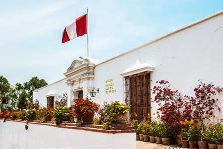 Museo Arqueológico Rafael Larco Herrera in Lima, Peru