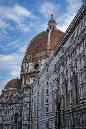 The Cathedral of Santa Maria del Fiore Duomo in Florence Italy