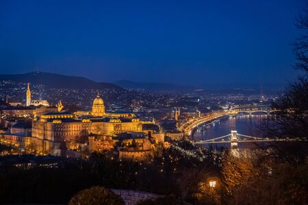 A beautiful view of Budapest Hungary Reklamní fotografie