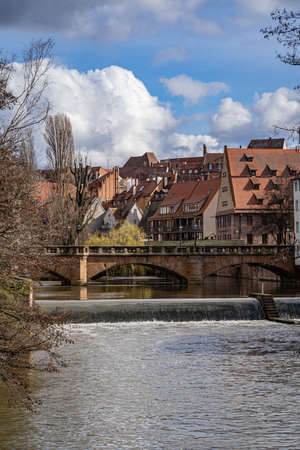 A view of Nuremberg Germany in late 2019 Banco de Imagens