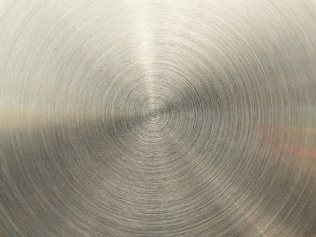 textured steel gray background with rings Stock Photo - 1447659